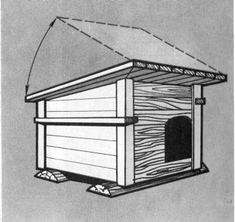 Рис 26 будка для собаки своими руками