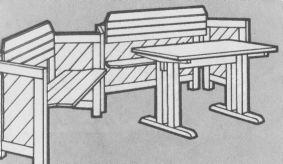 Мебель своими руками чертежами с фото