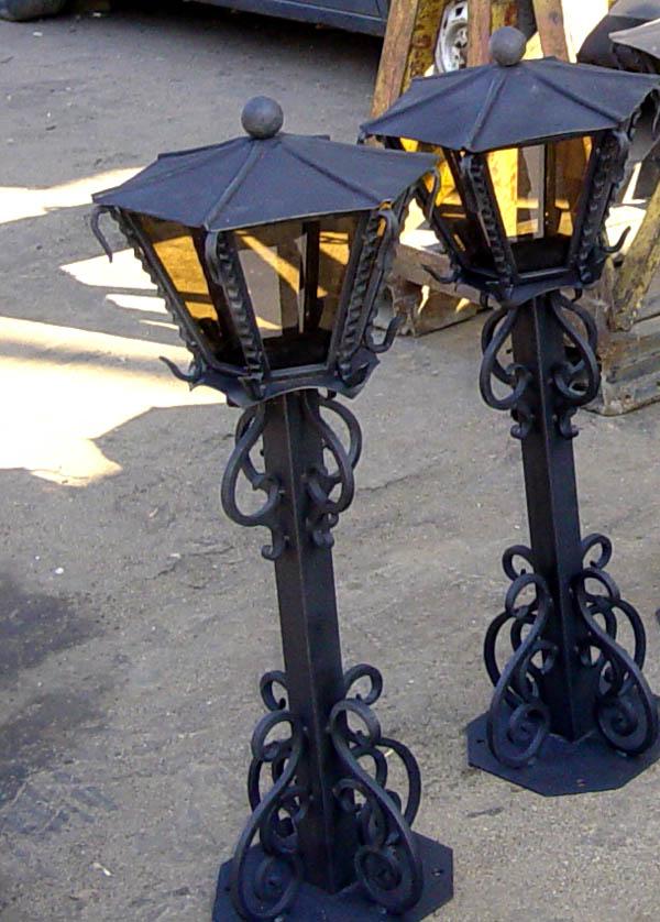 Уличные фонари своими руками фото